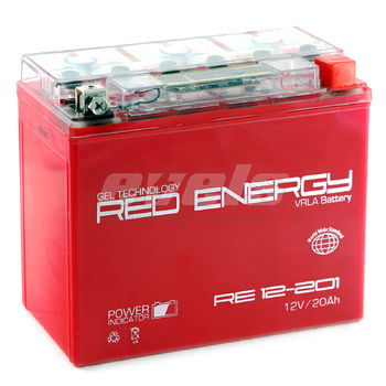 Red Energy RE12-201 (YTX20L-BS 18А/ч)